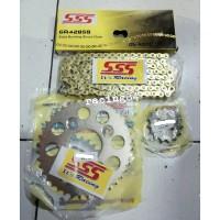 GEAR Set SSS SUPRA ALL OLD FIT X 125 110 Original