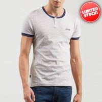 Kaos Original 3Second Grey Dual Button 5512