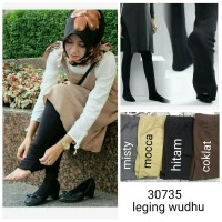 LEGGING WUDHU / LEGGING SPANDEX JUS D ORANGE / LEGGING TEBAL / HIJAB