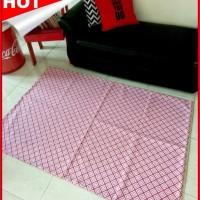 Premium Karpet kanvas - Red Mexican Murah di Jakarta