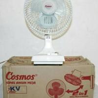 Kipas Angin 2 in 1 merk COSMOS 7-KV (bs di meja/dinding)