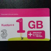 Voucher Kuota++ 3/Tri/Three 1GB