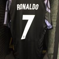 Jersey Original Real Madrid 3rd/Alternate + Nameset Ronaldo + WCC 2016