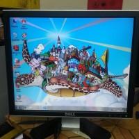 MONITOR PC DELL 17 INCH KOTAK (BEKAS/ SECOND)