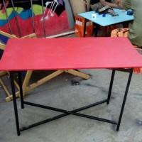Meja Lipat/Meja Makan Lesehan untuk Jualan Bazar Pameran/Kayu Murah