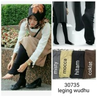 LEGGING WUDHU / LEGGING SPANDEX JUS D ORANGE / LEGGING TEBAL HIJAB