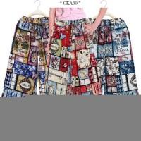 Celana Kulot Anak Katun Linen / Celana Panjang Anak