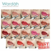 Wardah Long Lasting Lipstik 100% Original