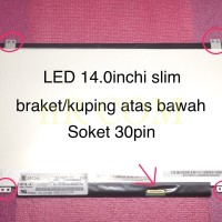 Layar LCD LED Laptop DELL INSPIRON 14-5000 5451 5455 5458 7447 Series