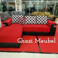 Sofa L bed reclining