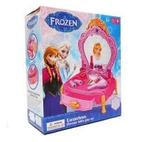 Luxury Dresser Table Play Set Frozen - Mainan Meja Rias Frozen 80852-1