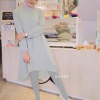 Celana Legging Stocking Wudhu Bahan Tebal Murah
