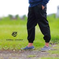 Celana Panjang Pria - Celana Sirwal Jogger HITAM - Jogger Pants