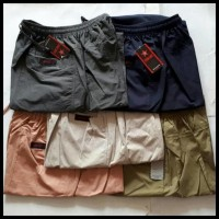 (Baru!!) Celana Panjang Cargo Katun Pangsi / Sirwal Jumbo -Jpp001 !!