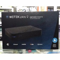Terlaris DVB S2 WETEK PLAY 2 HYBRID MEDIA PLAYER 4K ANDROID TV BOX