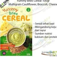 Yummy Bites Cereal Multigrain Cauliflower Broccoli Cheese 100gr