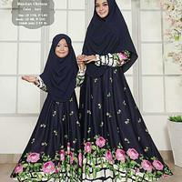 BAJU MUSLIM DRESS gamis couple ibu dan anak / gamis couple muslim