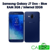 Samsung Galaxy J7 Duo - J720 - 3GB/32GB - Blue - NEW - GRS Resmi SEIN