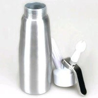 Whipped Cream Dispenser 500 mL - Silver Berkualitas