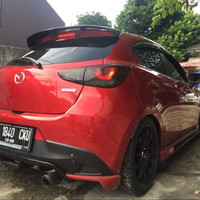 Rear Spoiler Wing Mazda 2 SkyActive-Limited Edition, Bodykit part