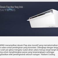 AC Split Panasonic Sky Series Inverter 1,5PK 1,5 PK R32 CSVU13UKP VU13