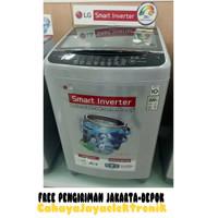 PROMO MESIN CUCI LG Smart inverter T2350VSAM_Kaps.10.5kg_Top Loading