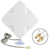 4G LTE MIMO Eksternal Antena untuk Modem Router - Konektor TS9 Ganda