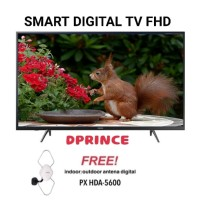 SAMSUNG LED TV 43 Inch FHD Digital 43J5202 + Antena px hda-5600