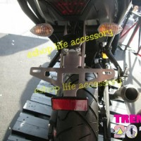 aksesoris Fender less braket plat nomor mt25/mt03/r25/r3 original