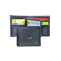 Dompet / Wallet Kasual Pria kulit hitam Java Seven HRI 480 ori murah