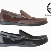 Sepatu Casual Kickers Slip On Pria Kulit Asli Slop loafers Murah