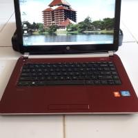 Laptop Hp 14-n013TU Core i3 Mulus Likenew Murah