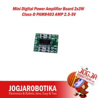 Mini Digital Power Amplifier Board 2x3W Class-D PAM8403 AMP 2.5-5V