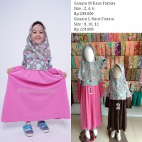 Baju Muslim Anak By Elzatta || Ganara L Kaus Fanara