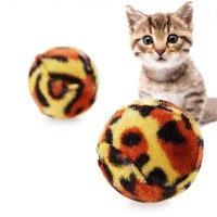 Pet Cat Grinding Claws Leopard Ball Toys Creative Sound Cat Toys Play