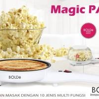 Wajan Elektrik Multifungsi BOLDe Electric Magic PAN Peralatan Masak