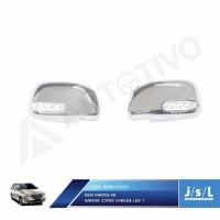 JSL Cover Spion Lampu Kijang Innova Mirror Cover Chrome LED