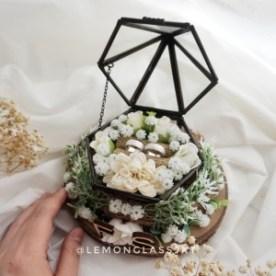 Rustic Bloom Pyramid