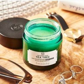 THE BODY SHOP TEA TREE SKIN CLEARING NIGHT MASK 75ML