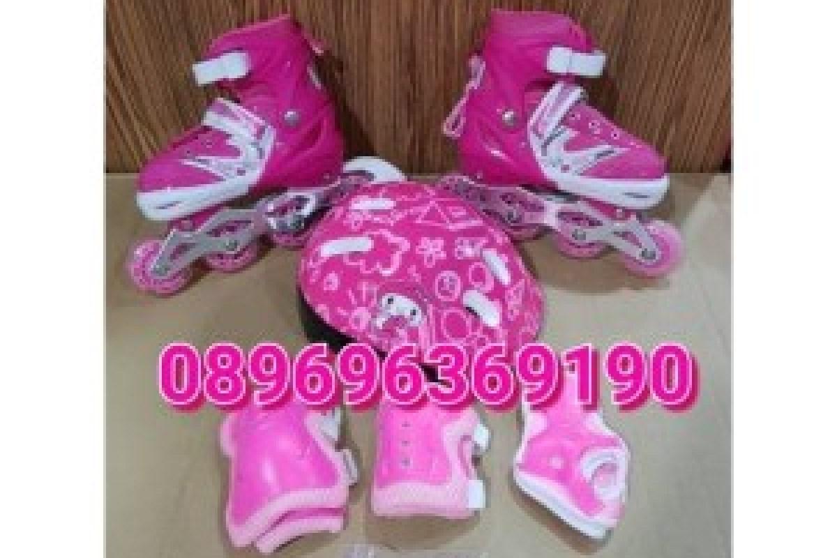 KOMPLIT !! sepatu roda anak fullset (body protecktor +helm)   inline skate  TINGGAL GAS ffa154cd47