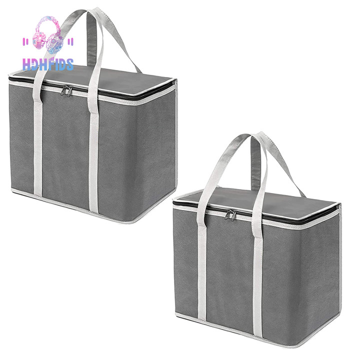 Jual Insulated Reusable Grocery Bags Heavy Duty Shopping Bag Tote Kab Malang Faniat Tokopedia