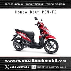 Jual Service Manual Honda Beat PGMFI  Service Manual