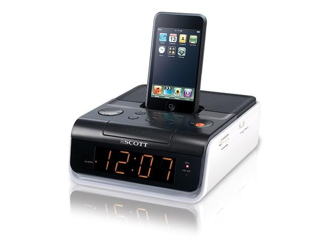 Dock Audio Scott I Cx 2 Radio Clock