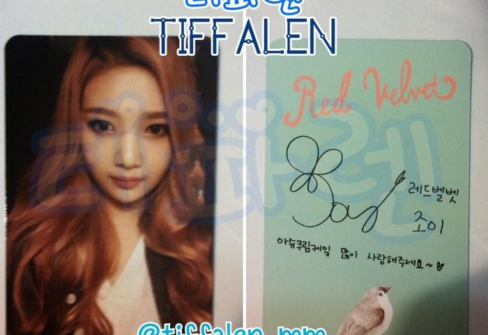 Jual Red Velvet Joy Ice Cream Cake Photocard Kpop Tiffalen Shop
