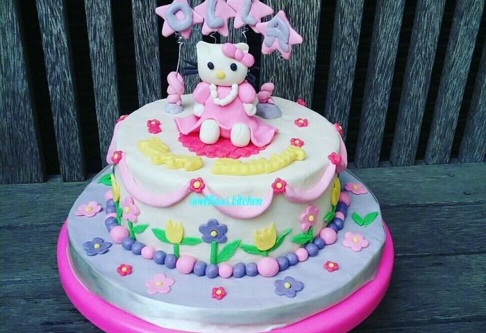 Jual Hello Kitty Birthday Cake Kab Bekasi Cupcakes Bekasi