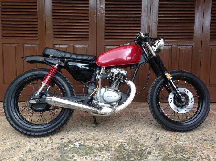 Jual Honda Cb100 Cafe Racer Style Suarnandotp Tokopedia
