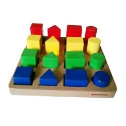 Jual Colour Block 16 Balok Warna Mainan Edukatif Edukasi Anak
