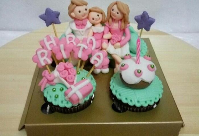 Jual Cupcake Birthday Cake Bday Kue Ulang Tahun