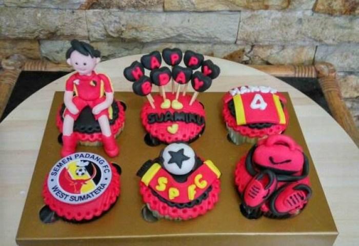 Jual Cupcake Tema Bola Bday Cake Kue Ultah Bola Kota Bandung