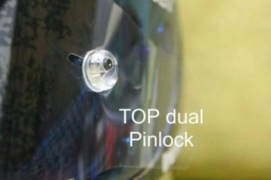 pinlock dan tear off